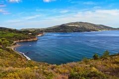 Lacona bay - Elba Island Royalty Free Stock Image