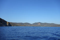 Lacona en Elba Island Imagen de archivo