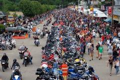 Laconia-Motorrad-Woche 2009 Stockfoto