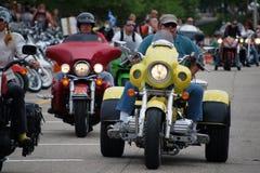 Laconia-Motorrad-Woche 2009 Stockbild