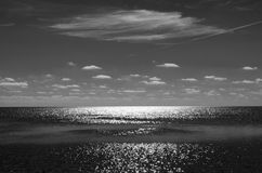 Lacoon облака и серебра стоковое изображение rf