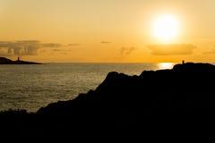 LaCoruna kust Royaltyfria Bilder