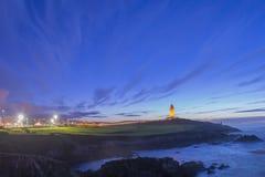 LaCoruna kust Royaltyfria Foton