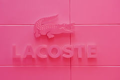 Lacoste Royalty Free Stock Photo