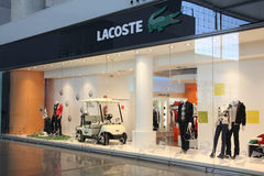Lacoste Royalty Free Stock Images