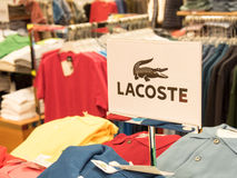 Lacoste Royalty Free Stock Photography