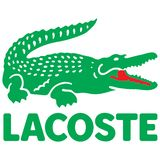 Lacoste icon logo. Lacoste is a French company, founded in 1933 by tennis player René Lacoste and André Gillier. It sells clothing, footwear, sportswear stock illustration