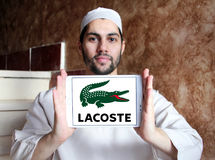Lacoste logo Royalty Free Stock Photo