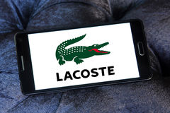 Lacoste logo Royalty Free Stock Images