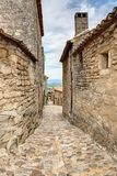 Lacoste - Luberon - Provence França Foto de Stock Royalty Free