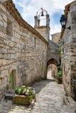 Lacoste - Luberon - Provence França Fotografia de Stock
