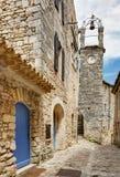 Lacoste - Luberon - Provence França Fotos de Stock