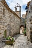 Lacoste - Luberon - Provence Frankrike Arkivbild