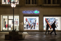 Lacoste shop Royalty Free Stock Photo