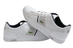 Lacoste sport shoes Stock Photos