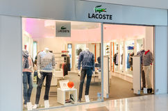 Lacoste Store Stock Images
