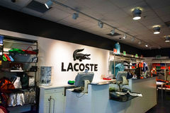 Lacoste Royalty Free Stock Image