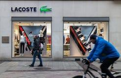 Lacoste storefront Stock Photo