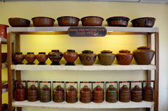 Lacquerware shop Royalty Free Stock Image