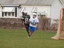 lacrosse действия Стоковое Фото