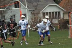 lacrosse действия Стоковая Фотография RF