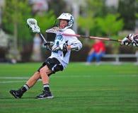 lacrosse удара головки к Стоковые Фото