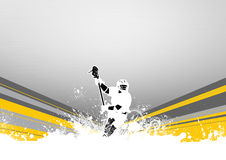 Lacrosse. Abstract grunge color lacrosse background with space vector illustration