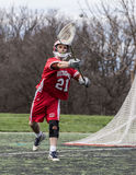 Lacrosse Action Royalty Free Stock Photography