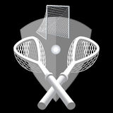 Lacrosse background. Stock Photo