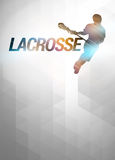 Lacrosse background Stock Photo