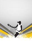 Lacrosse background Royalty Free Stock Image