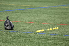 Lacrosse Ball Line Stock Images