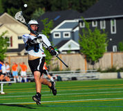 Lacrosse ball pass Stock Image