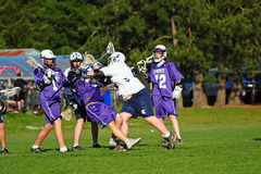 Lacrosse blocker Stock Images