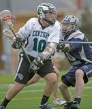 Lacrosse che cattura un colpo Fotografie Stock