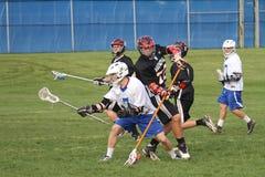 Lacrosse da High School Foto de Stock Royalty Free
