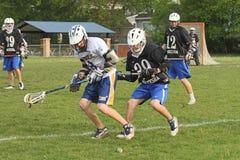 Lacrosse de la High School secundaria Imagen de archivo