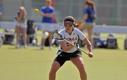 Lacrosse de las mujeres del NCAA (LAX) Fotos de archivo libres de regalías