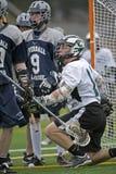 Lacrosse de los muchachos después del juego Fotos de archivo