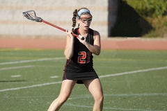 Lacrosse Defense Royalty Free Stock Images