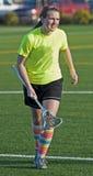 Lacrosse del HS de las muchachas Foto de archivo