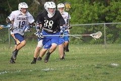 Lacrosse della High School Fotografia Stock