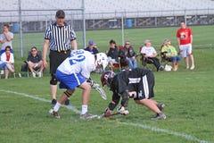 Lacrosse della High School Immagine Stock Libera da Diritti