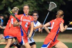 Lacrosse - Dieke Spitzen Fotografering för Bildbyråer