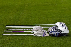 Lacrosse Equipment Royalty Free Stock Image
