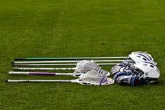 Lacrosse Equipment royalty free stock image