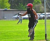 lacrosse för 2 goalie Royaltyfri Foto