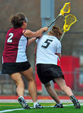 Lacrosse-Frauen   Lizenzfreie Stockfotografie