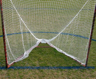 Lacrosse gate. Lacrosse goal Royalty Free Stock Images