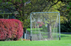 Lacrosse goal net Royalty Free Stock Image